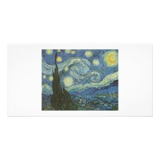 Fotokort för Starry natt