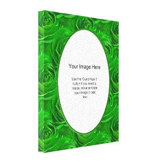 Fotomall - tapet för smaragdgröntro canvastryck