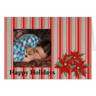 Fotomallen semestrar jul hälsningskort
