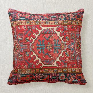Fototryck: av den antika orientaliska turken matta kudde
