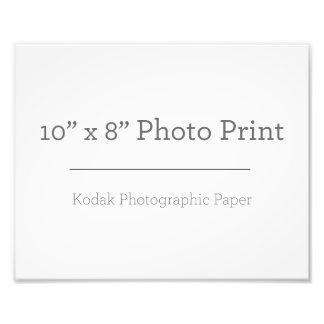Fototryck för anpassningsbar 10 x 8