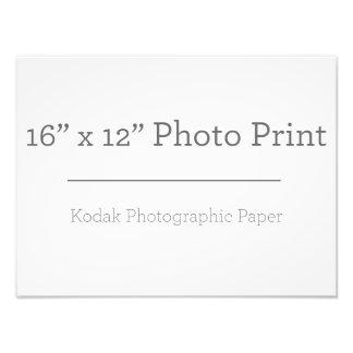 Fototryck för anpassningsbar 16 x 12