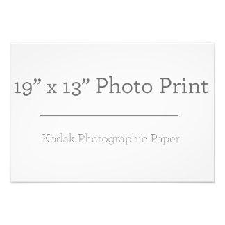 Fototryck för anpassningsbar 19 x 13