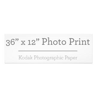 Fototryck för anpassningsbar 36 x 12