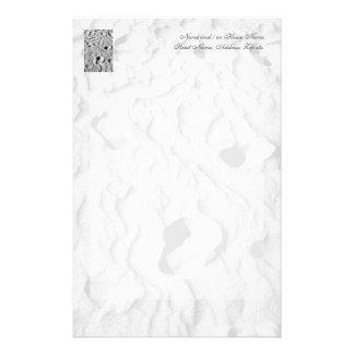 Fotspår och minnen brevpapper