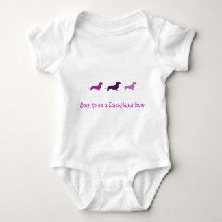Fött att älska Tax-Lilor T-shirt