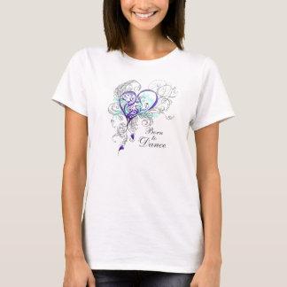 Fött att dansa BabydollT-tröja (anpassadet) T-shirt