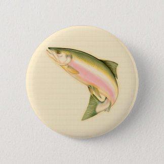 Fött att fiska standard knapp rund 5.7 cm