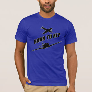 Fött att flyga tee shirt