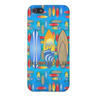 Fött att surfa iPhone 5 fodraler