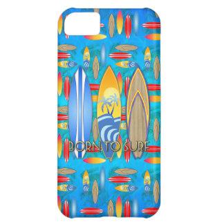 Fött att surfa iPhone 5C fodral
