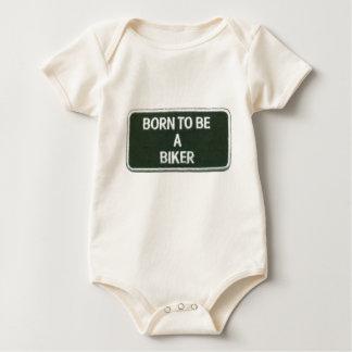 fött att vara en biker body för baby