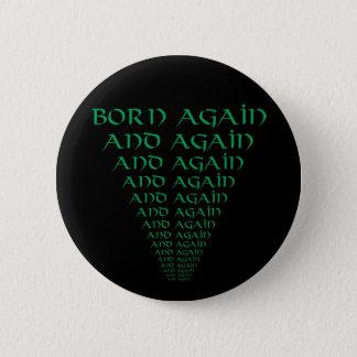 Fött igen och igen standard knapp rund 5.7 cm