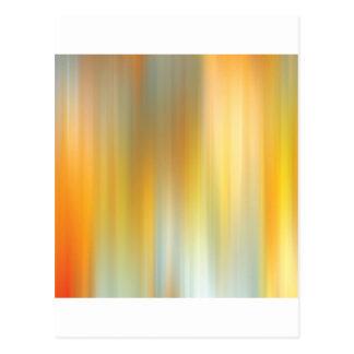 Fotvandra för abstraktfärger vykort