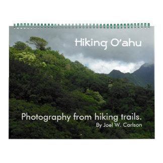 Fotvandra Oahu Kalender