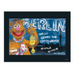 Fozzie björn - Berlin, tyskland affisch Vykort