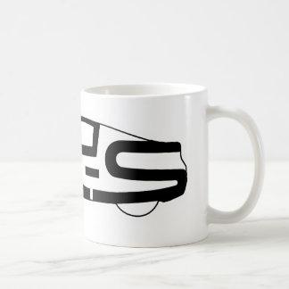 FR-S i en forma av bilen Kaffemugg