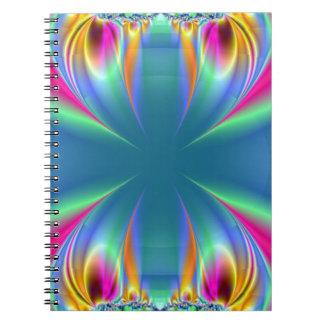 Fractal 101 anteckningsbok med spiral