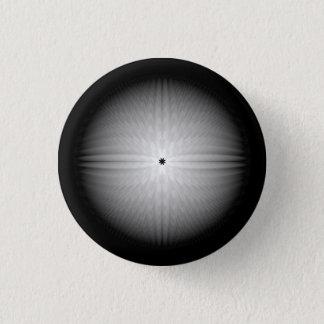 Fractalen kastar snöboll knäppas mini knapp rund 3.2 cm