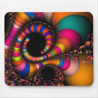 Fractalflygfärger Musmatta