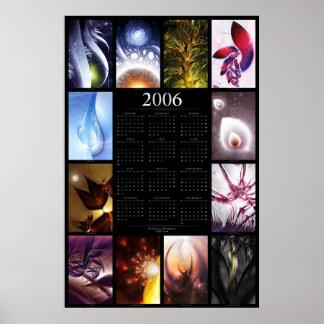 Fractalkalender 2006 poster