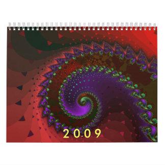 Fractalkalender 2009 kalender