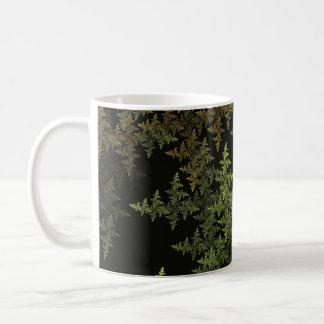 Fractalkamouflage Kaffemugg