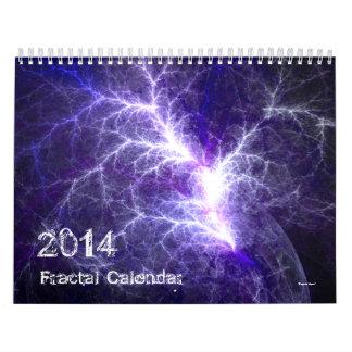 Fractalkonstkalender 2014 kalender