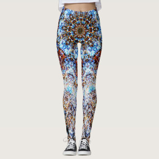 Fractalvärld Leggings