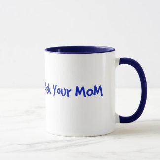 Fråga din mammamugg mugg