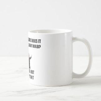 Fråga en man kaffemugg