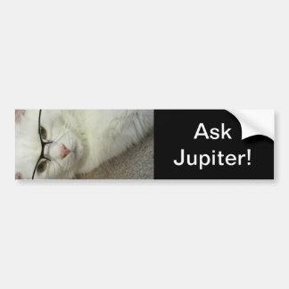 Fråga Jupiter! bildekal! Bildekal