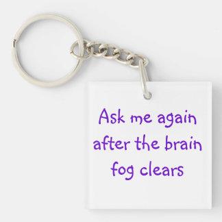 Fråga mig igen, efter hjärndimman har görat klar