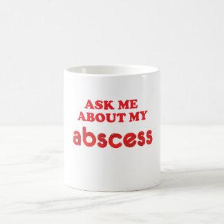 Fråga mig om böld kaffemugg