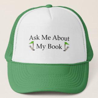 Fråga mig om min bok keps