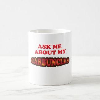 Fråga mig om min Carbuncles Kaffemugg