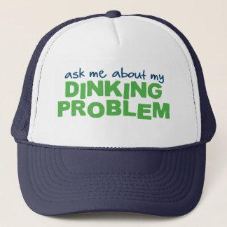 Fråga mig om min Dinking problemPickleball hatt Keps