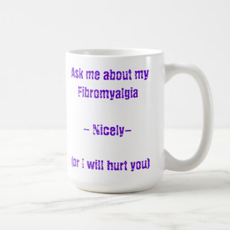Fråga mig om min Fibromyalgia Kaffemugg