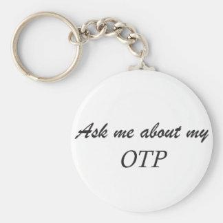 Fråga mig om min OTP keychain. Nyckelring