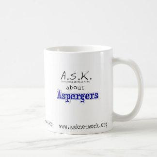 FRÅGA om Aspergers Kaffemugg