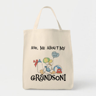 Fråga om min sonsonTshirts och gåvor Tygkasse
