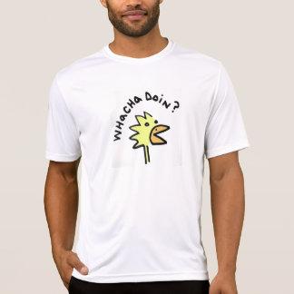Frågvisa fega Microfiber T T-shirts