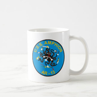 Frakt för USS Amphion (AR-13) mugg för kaffe för