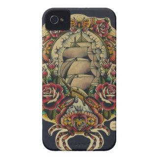 frakt och krabbor Case-Mate iPhone 4 skydd