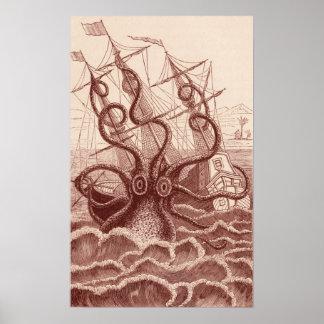 frakt vs. bläckfisken poster