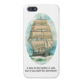 Frakten i hamnen är säker men byggd för äventyr iPhone 5 skal