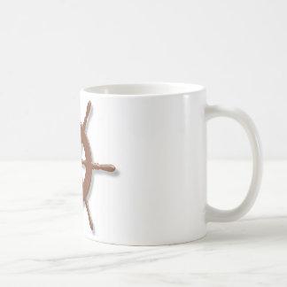 Frakten rullar kaffemugg
