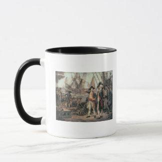 Frakten, som sjönk segern, 1779 mugg