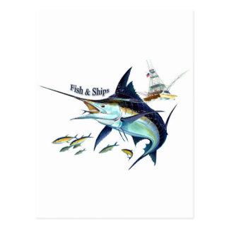 frakter för fisk n vykort