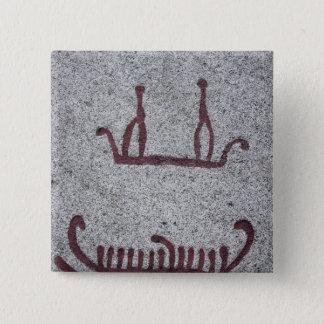 Frakter och deras besättningar standard kanpp fyrkantig 5.1 cm